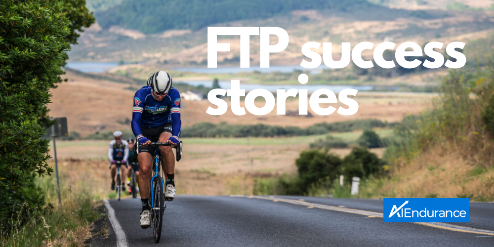 How to Improve FTP in 8 Weeks With AI Endurance: Success Story